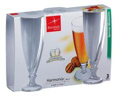 Набор из 3 бокалов для пива «Harmonia», 390 мл, фото 2