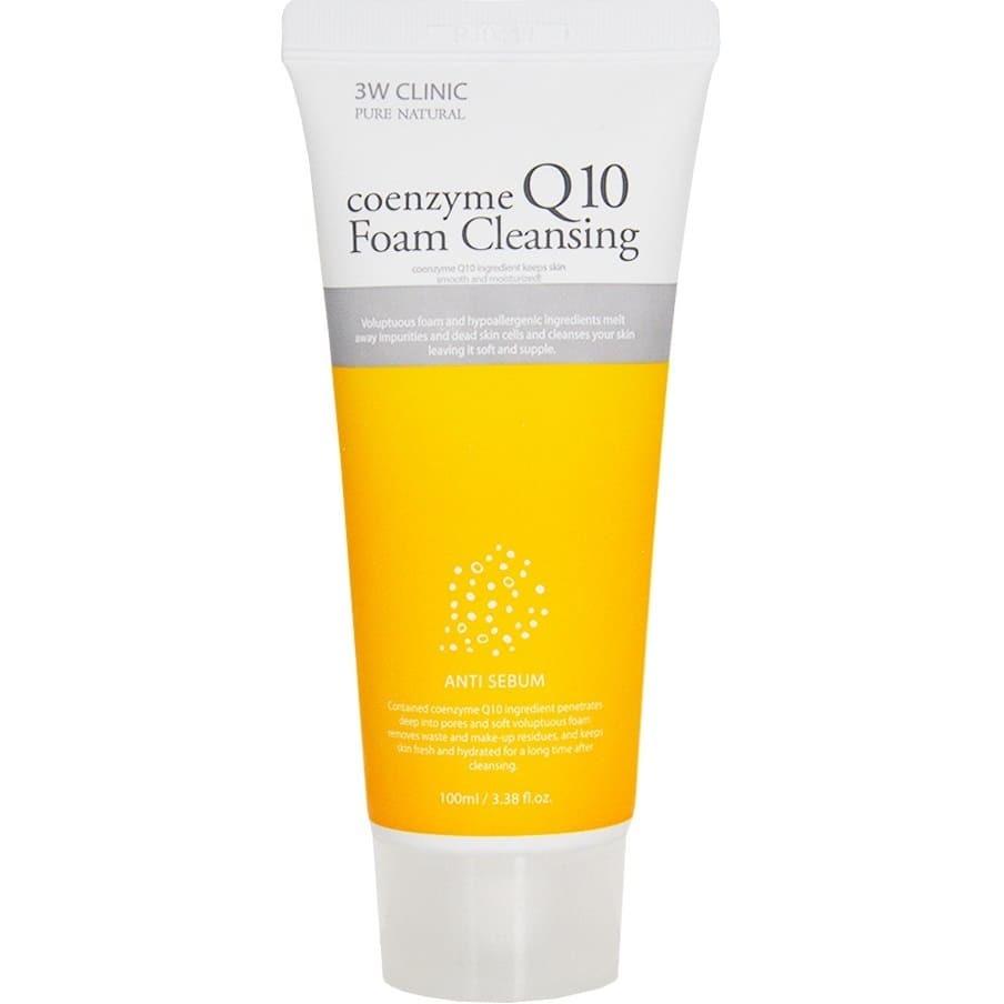 Пенка для лица - 3W Clinic Coenzyme Q10 Foam Cleansing