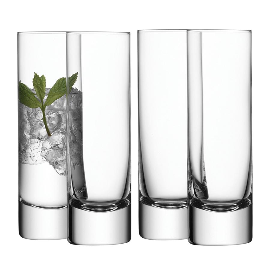 Фото - Набор из 4 бокалов для коктейлей LSA International Bar, 250 мл набор бокалов для коктейлей sea life