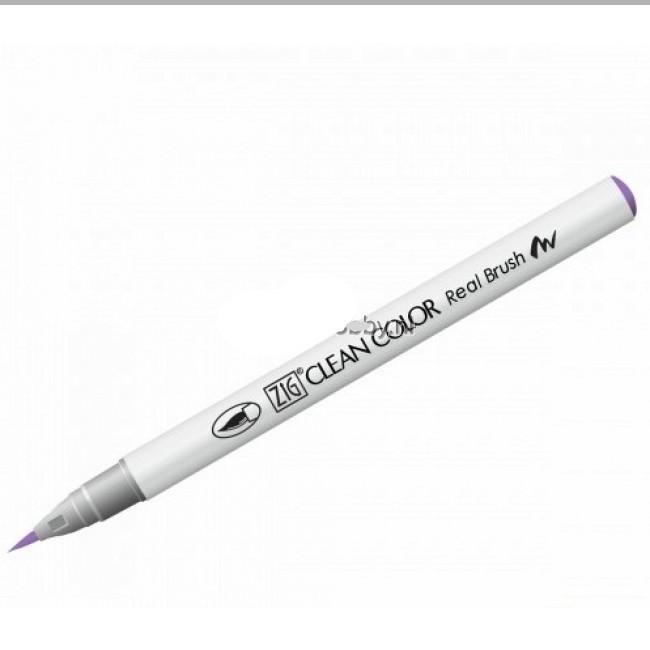Маркер акварельный ZIG Clean Color Real Brush- штучно -English Lavender - 803