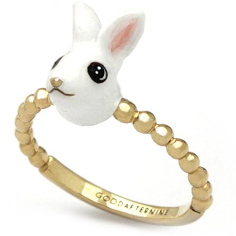 Мини-кольцо Кролик