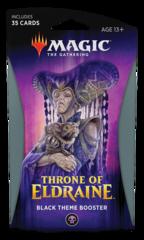 Тематический бустер «Throne of Eldraine» (чёрный) на английском языке