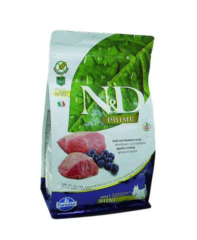 Farmina N&D Dog сухой корм для собак мелких пород (ягненок с черникой) 800 г