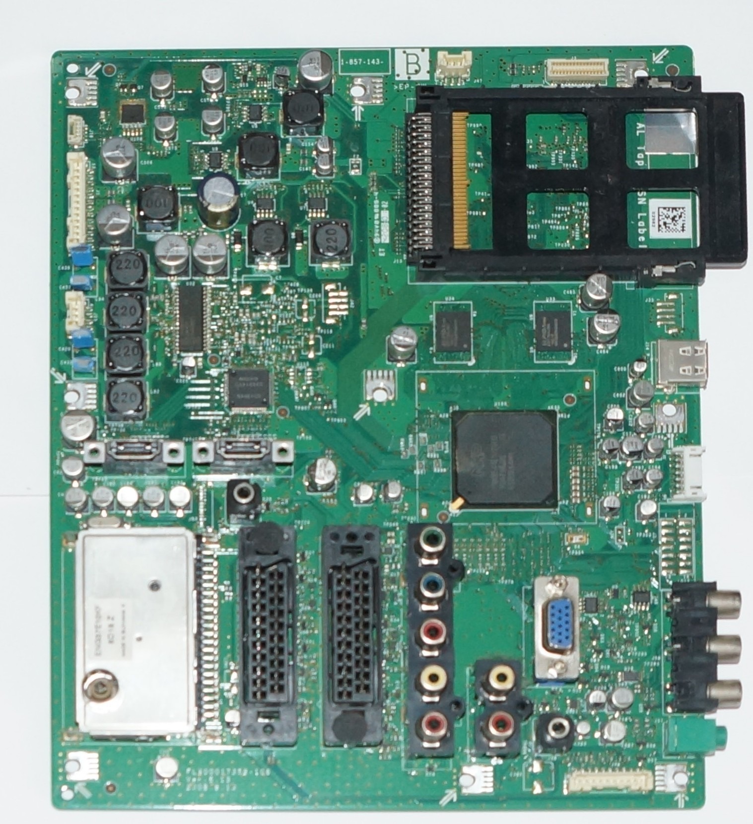 FLX00017358-106 VER:5.13 1-857-382-11 mainboard телевизора Sony