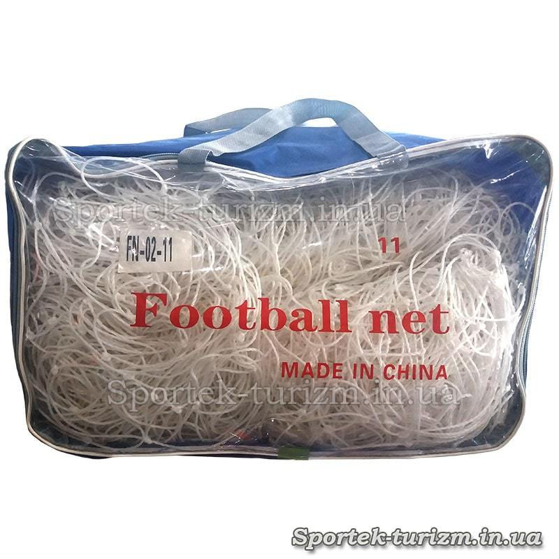 Сітка для футбольних воріт 7,3 на 2,44 м. FN-02-11