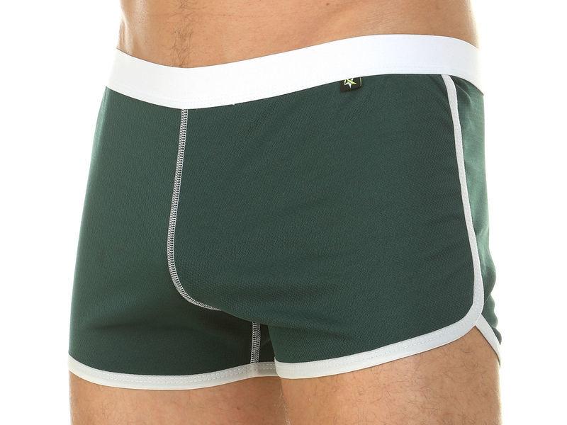Мужские шорты домашние зеленые Van Baam 39851