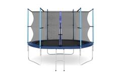 Батут с внутренней сеткой и лестницей, диаметр 10ft (305 см)