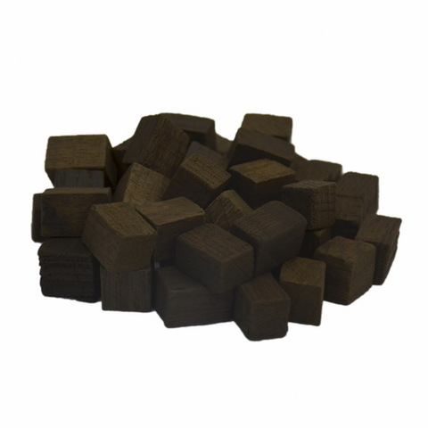 Кубики дубовые Лер среднего обжига, 100 г на 12-100 л