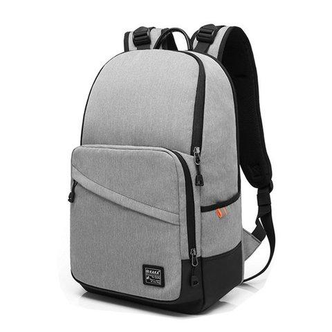 Рюкзак с карманами стильный для города КАКА 2239 серый