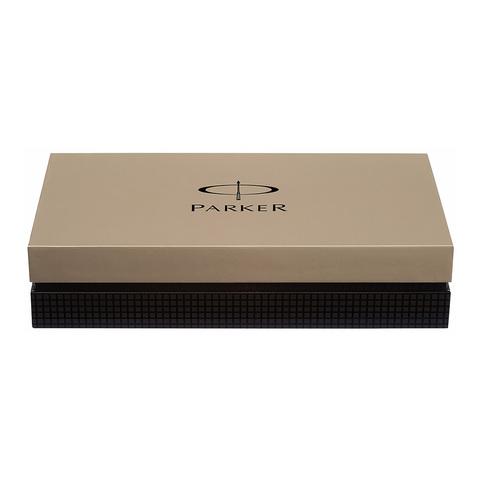 Parker Premier - Deluxe Graduated Chiselling ST, ручка-роллер, F, BL