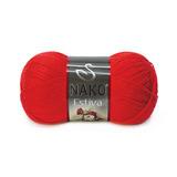 Пряжа Nako Estiva 6951 красный