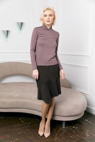 Фото юбка с асимметричным широким подолом - Юбка Б146-102 (1)