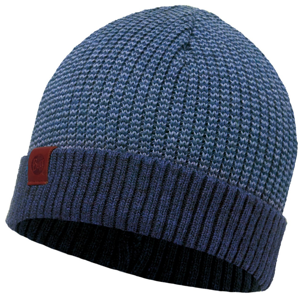 Шапки с отворотом Вязаная шапка Buff Dee Blue 116046.707.10.00.jpg