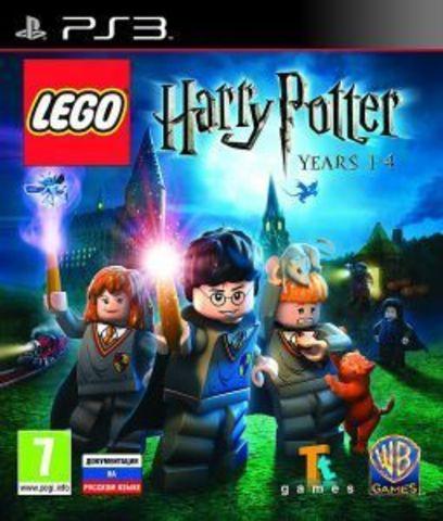 PS3 LEGO Harry Potter: Years 1- 4 (английская версия)