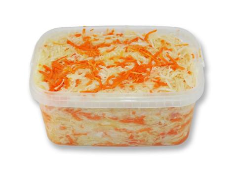 Капуста квашеная с морковкой