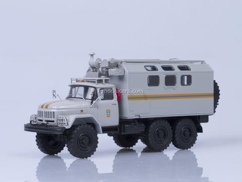 ZIL-131 kung MChS EMERCOM mobile workshop 1:43 AutoHistory