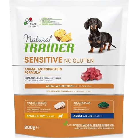 Trainer Sensitive Корм сухой для собак мелких пород с ягненком и рисом 7 кг.