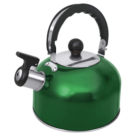 Чайник со свистком HOME ELEMENT HE-WK1602 зеленый изумруд