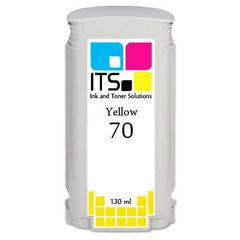 Картридж для HP 70 (C9454A) Yellow 130 мл