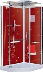 Душевая кабина LanMeng LM857 R (красная)