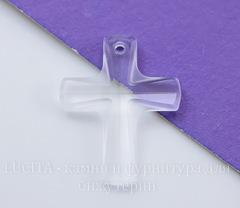6860 Подвеска Сваровски Крестик Crystal (20х16 мм)