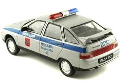 VAZ-2112 Lada DPS Traffic Patrol Police 1:43 DeAgostini Service Vehicle #10