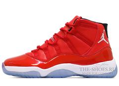 Кроссовки Мужские Nike Air Jordan XI Retro Red Top White
