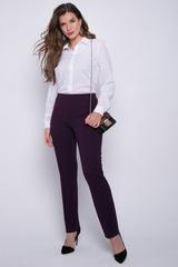 <p>Трикотажные брюки не просто удобны в носке, но еще и весьма популярны сегодня. Высокая посадка, талия на резинке. Присутствует эффект утяжки, что очень привлекательно для любой фигуры. Ткань очень приятная к телу. Цена Вас порадует.&nbsp;(Длина во всех размерах: 101 см)&nbsp;</p>