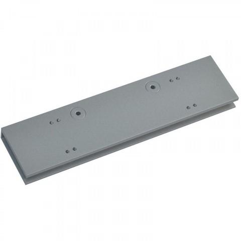 Пластина для установки доводчика TS92 на цельностеклянную дверь Dormakaba (серый)