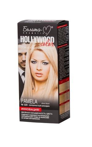 Белита-М Hollywood Color Крем-краска 329 Памела (серебристый блондин)