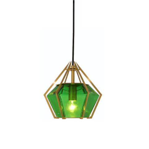Подвесной светильник копия Harlow 3 by Gabriel Scott (зеленый)