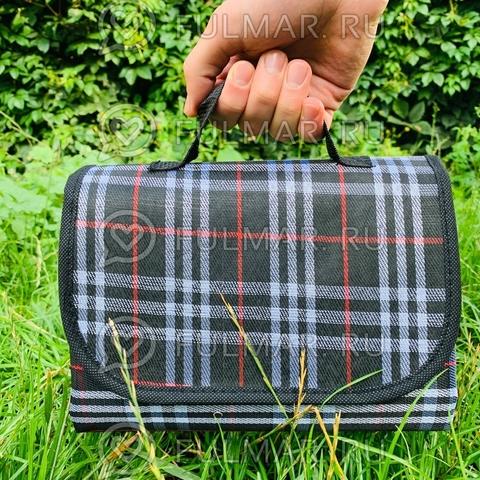 Складной туристический коврик для пикника 180х150 см Чёрный