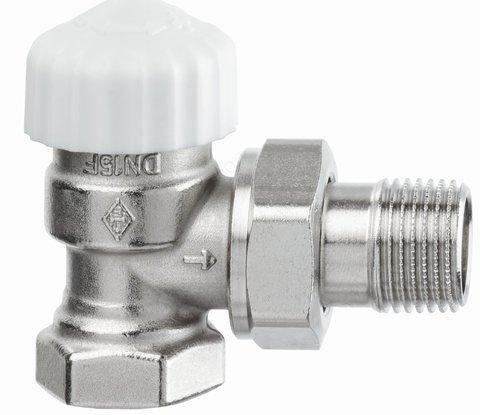 Клапан термостатический Calypso exact угловой с преднастройкой 1/2