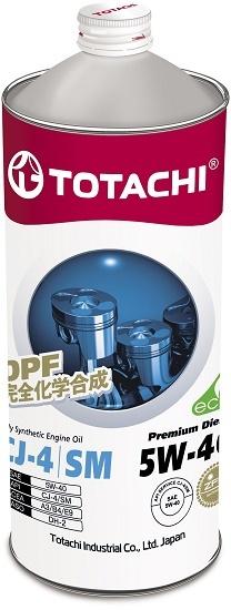 Premium Diesel 5W-40 TOTACHI масло дизельное моторное синтетическое (1 Литр)