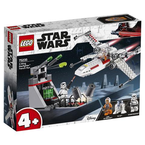LEGO Star Wars: Звёздный истребитель типа Х 75235 — X-wing Starfighter Trench Run — Лего Звездные войны Стар Ворз