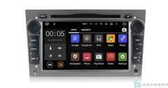 Штатная магнитола 4G/LTE с DVD для Opel Zafira на Android 7.1.1 Parafar PF019D (титан)