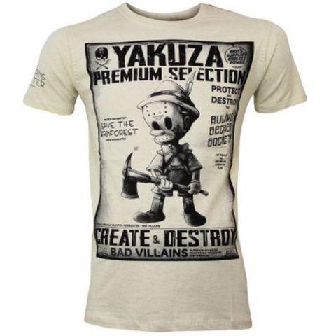 Футболка песочная Yakuza Premium 2801