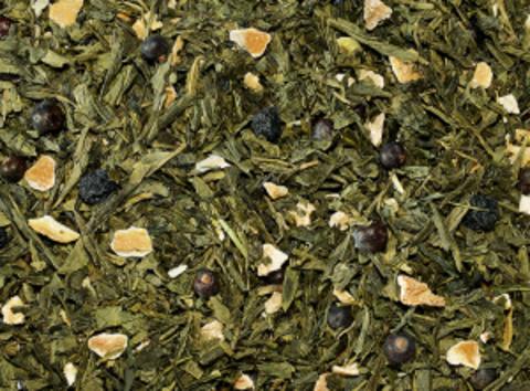 Зеленый чай Можжевельник-лимон