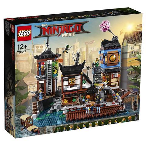 LEGO Ninjago Movie:  Порт Ниндзяго Сити 70657 — Ninjago City Docks — Лего Ниндзяго Муви