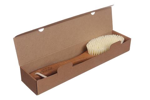 YOZHIK Щётка для сухого массажа (класс XL, синтетическое волокно)_коробка