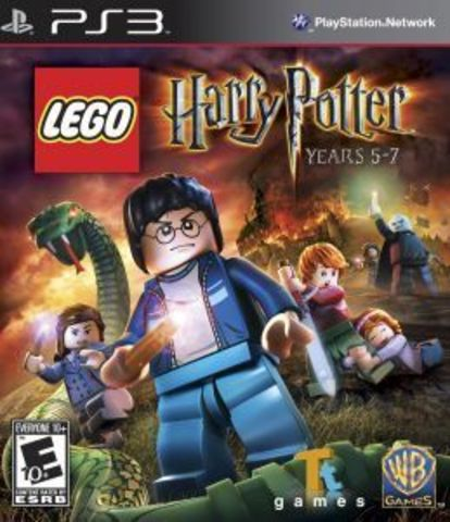 PS3 LEGO Harry Potter Years 5-7 (русские субтитры)