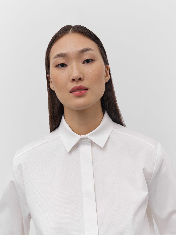 Рубашка June, Молочный