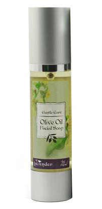Жидкое мыло для лица на оливковом масле, Lavender