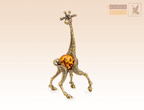 фигурка Жираф c янтарем