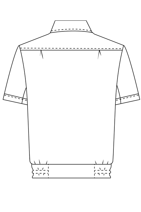 Готовая выкройка женской форменной рубашки