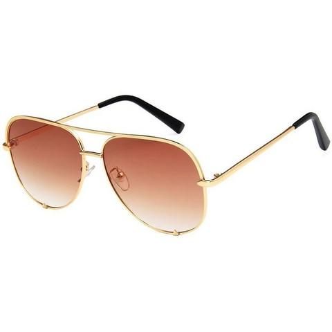 Солнцезащитные очки 6256002s Коричневый - фото