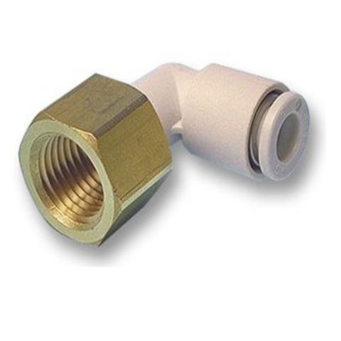 KQ2LF08-03A  Угловое быстроразъемное соединение