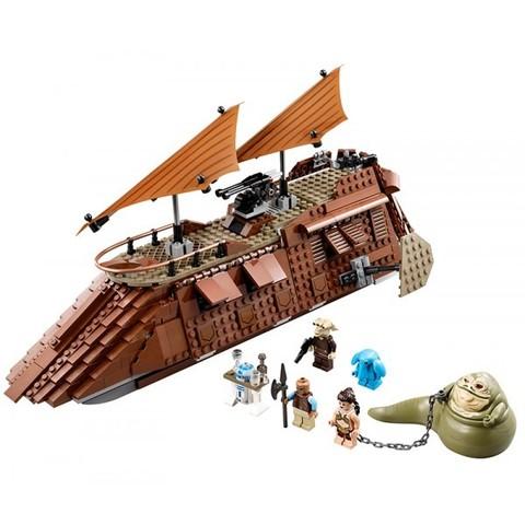 LEGO Star Wars: Пустынный корабль Джаббы 75020 — Jabba's Sail Barge — Звёздные войны Стар Ворз