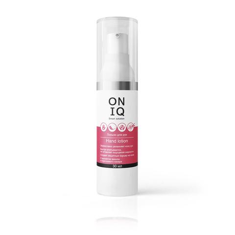 Лосьон для рук ONIQ   с ароматом ванили и коричневого сахара, 30 мл