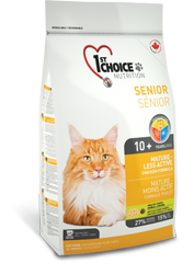 1st Choise Корм для стареющих и малоактивных кошек, 1st Choice Mature or Less Active, с цыпленком chatsenioractif_177x240.png